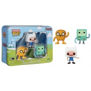 Funko Pocket POP! Disney - Adventure Time Tin 3-Pack feat. Finn, Jake and BMO Figures 4cm