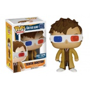 Funko POP! Doctor Who - 10th Doctor 3-D specs Version Vinyl Figure 10cm limited