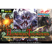 Future Card Buddyfight - Hundred Extra Booster Display 03: Lord of Hundred Thunders (15 Packs) - EN