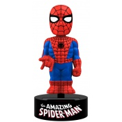 Marvel - The Amazing Spider-Man Solar Powered Body Knocker 15cm Bobble Head