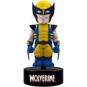 Marvel - Wolverine Solar Powered Body Knocker 15cm Bobble Head