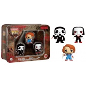 Funko Horror - Pocket POP! Tin #1 feat. Ghostface, Chucky and Saw Billy vinyl figures 4cm