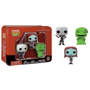 Funko Pocket POP! Disney - Nightmare Before Christmas Tin feat. Jack, Sally and Oogie Boogie vinyl figures 4cm