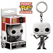 Funko Pocket POP! Keychain Disney - Nightmare Before Christmas JACK SKELLINGTON Vinyl Figure 4cm