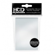 HCD - Standard Sleeves - Clear Board Game Sleeves (50 sleeves)