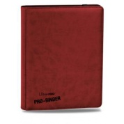 UP - Premium Pro-Binder - 9-Pocket Portfolio - Red