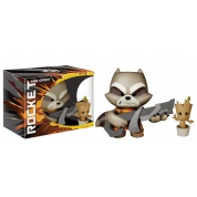 Funko Vinyl Sugar Marvel Guardians Of The Galaxy - Rocket Raccoon w/ Baby Groot Super Deluxe Vinyl Figure 18cm