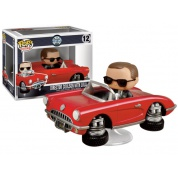 Funko POP Rides! Marvel - Director Coulson with Lola Vinyl Figure Set 12cm