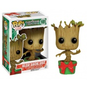 Funko POP! Marvel Guardians of the Galaxy - Holiday Dancing Groot Vinyl Figure 10cm