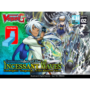 Cardfight!! Vanguard - Commander of the Incessant Waves - Clan Booster Display (12 Packs) - EN