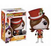 Funko POP! Borderlands - Mad Moxxi Red Vinyl Figure 10cm limited edition