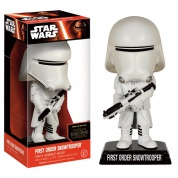 Funko Wacky Wobblers Star Wars Episode VII The Force Awakens - First Order Snowtrooper Bobble Head 15cm