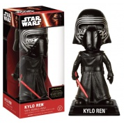 Funko Wacky Wobblers Star Wars Episode VII The Force Awakens - Kylo Ren No Helmet Bobble Head 15cm