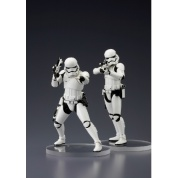 Star Wars ARTFX+ Series Episode VII First Order Stormtrooper set of 2 Statues 18cm (Model Kit)