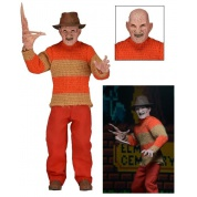 Nightmare on Elm Street Freddy Krueger Classic 1989 Video Game Appearance Limited Version Clothed Action Figure 20cm