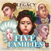 Legacy: The Testament of Duke de Crecy – Five Families - EN