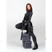 Marvel Collectors Gallery Captain America The Winter Soldier - Black Widow Statue 28cm limited edition