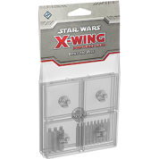 FFG - Star Wars X-Wing: Clear Bases and Pegs Expansion Pack - EN