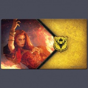 FFG - A Game of Thrones LCG 2nd Edition: The Red Woman Playmat