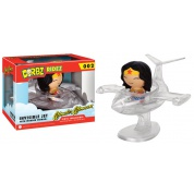 Funko Vinyl Sugar Dorbz Rides - Wonder Woman in Invisible Jet Collectible Figure 8cm