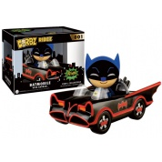 Funko Vinyl Sugar Dorbz Rides - Batman in Batmobile Collectible Figure 8cm