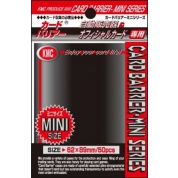 KMC Small Sleeves - Black (50 Sleeves)