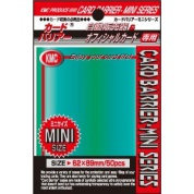 KMC Small Sleeves - Green (50 Sleeves)