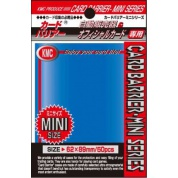 KMC Small Sleeves - Metallic Blue (50 Sleeves)