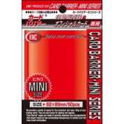KMC Small Sleeves - Metallic Red (50 Sleeves)