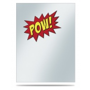 UP - Printed Deck Protector Sleeve Covers (50 Sleeves) - Pow!