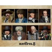 Quentin Tarantino's The Hateful Eight - 20cm Clothed Deluxe Action Figure Assortment (8) limited (3000 worldwide) one-run-production