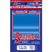 KMC Standard Sleeves - Super Blue (80 Sleeves)