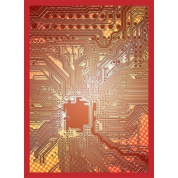 Legion - Gloss Sleeves - Circuit - Red (50 Sleeves)
