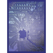 Legion - Standard Sleeves - Circuit - Blue (50 Sleeves)
