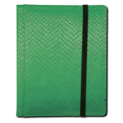 Legion - 4 Pocket Dragonhide Binder - Green