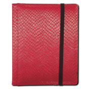 Legion - 4 Pocket Dragonhide Binder - Red