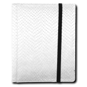 Legion - 4 Pocket Dragonhide Binder - White