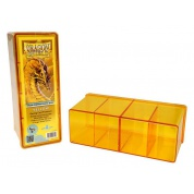 Dragon Shield - 4 Compartment Storage Box - Yellow
