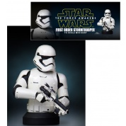 Star Wars Episode 7 The Force Awakens - First Order Stormtrooper 1/6 Scale Deluxe Bust limited edition
