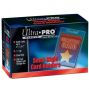 "UP - Semi-Rigid Card Holders with 1/2"" Lip (200 Card Holders)"