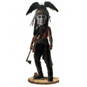 The Lone Ranger 7-inch Headknocker Tonto (Slightly damaged box)