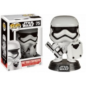 Funko POP! Star Wars: The Force Awakens First Order Stormtrooper w/ Shield Vinyl Figure 10cm Limited