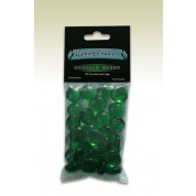 Dragon Shield - Transparent Gaming Counters - Emerald Green (30 pcs)