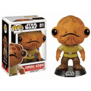 Funko POP! Star Wars - Episode VII The Force Awakens: Admiral Ackbar - Vinyl Figure 10cm