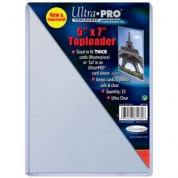 "UP - Toploader - 5"" X 7"" (25 pieces)"