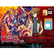 "Cardfight!! Vanguard G - Legend Deck - The Overlord Blaze ""Toshiki Kai"" - EN"