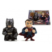 Metals: Batman vs Superman - Batman & Superman 2-Pack Die Cast Action Figures 10cm