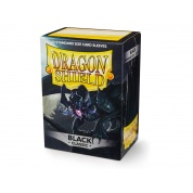 Dragon Shield Standard Sleeves - Black (100 Sleeves)