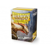 Dragon Shield Standard Sleeves - White (100 Sleeves)