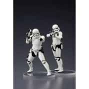 Star Wars ARTFX+ Serie Episode VII First Order Stormtrooper set of 2 Statues 18cm (Model Kit) (Slightly damaged box)